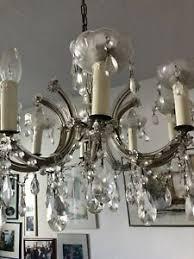 kronleuchter aus glas fürs wohnzimmer günstig kaufen ebay
