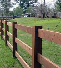 Wooden Ranch Rails Are Classically American And Rustic Fence Is Ready To Build Your Next