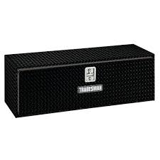 Home Depot Truck Tool Boxes Matte Black Aluminum Universal Chest ...