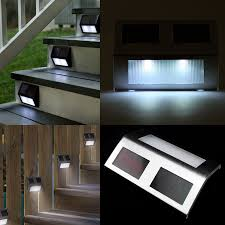 Solar Lights For Deck Stairs by Led Stair Lights Deck Indoor Outdoor Led Stair Lights U2013 Latest