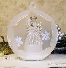Banberry Designs Angel Lighted Ornament