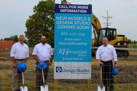 K Hovnanian Homes Floor Plans North Carolina by K Hovnanian Homes U0027 Build On Your Lot Division Breaks Ground On