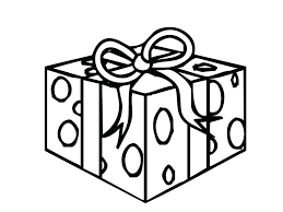 Birthday Gift Coloring Page Present Pages