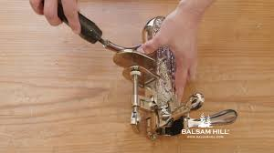 Balsam Hill Christmas Trees Complaints Uk by Assembling A Granite Base Tabletop Wine Opener From Balsam Hill