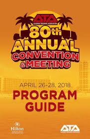2018 ATA Annual Convention Program Guide By Alabama Trucking ...