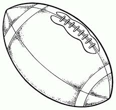 Cool Coloring Football Pages Printable In