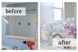 Mosaic Bathroom Mirror Diy by Tips For Moving U2013 Part 3 Diy Home Renovations U2013 Organizedchaosonline
