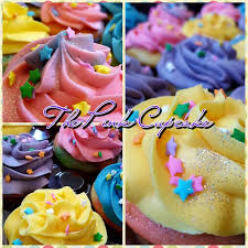 We Offer A Variety Of Colorful And Tasty Cupcakes