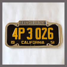 1948 California License Plates Best Plate 2017