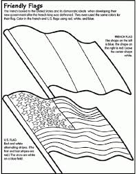 French Flag Coloring Page Az Pages With
