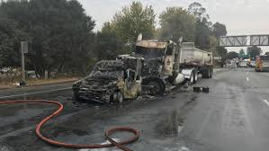 100 Big Truck Wrecks CHP Rig Involved In Tuesdays Multicar Crash In Santa Cruz