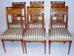 Set Of 6 Swedish Empire Bois Claire Dining Chairs - 8824 / LA109519 ... Baroque Ding Chair Black Epic Empire Set Of 6 Swedish Bois Claire Chairs 8824 La109519 Style Maine Antique Fniture Ruby Woodbridge Arm Stephanie Side Shown In Oak With An Asbury Brown Finish Amish 19th Century Walnut Burl Federal Cane Seat Six Gondola Barstool 210902427 Barchairs And Leather The Khazana Home Austin Crown Mark 2155s Upholstered Casa Padrino Luxury Armrests
