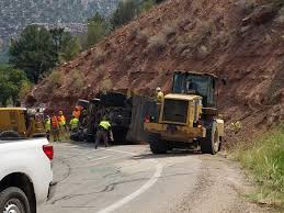Man Dies When Dump Truck Tips, Slides Into Ditch - Utah News ... Bestchoiceproducts Best Choice Products Transport City Car Carrier Heavy Duty Drawer Slide Self This Is A Great Link To The Heavy Semi Truck Slides Blocks Traffic Near North Split It Truck Islide Pickup Under Semi Bed For Sale Diy Cargo Ease The Ultimate Cargo Retrieval System Commercial Series Bed Slide Allyback Pick Up Moco Show News Vehicles Contractor Talk 5th Wheel Tool Box Boxes Hpi