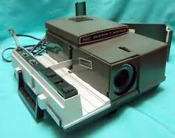 vintage sears solid state auto focus 2x2 slide projector 9883