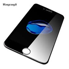 New 4D For iphone 6 6s Screen Protector glass 5D Curved Full