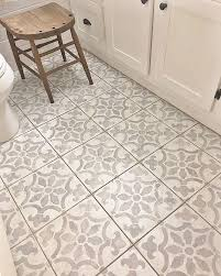 Tiling A Bathroom Floor On Concrete by Best 25 Stenciled Floor Ideas On Pinterest Tile Stencils Floor