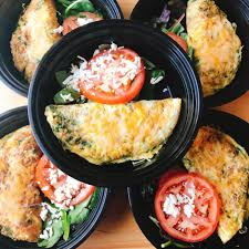 colibri cuisine spinach bacon egg cheese omelet 6 healthy bites by colibri
