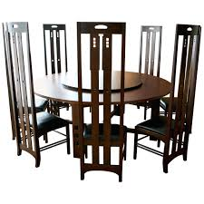 Art Nouveau Style Set Of Dining Table And High Back Chairs By High ... Set Of 4 Quality Art Nouveau Golden Oak High Slat Back Ding Chairs 554 Art Nouveau Ding Table And Chairs 3d Model Vintage 6 Antique French 1900 Walnut Nailhead Set 8 Edwardian Satinwood Beech Four Art Nouveau Louis Majorelle Ding Chairs Jan 16 2019 Room And Sale Mid Century Hand Made Game By Terry Bostwick Casa Padrino Luxury Dark Brown Cream 51 X Round In The Unique Timeless Tufted Armchair Chair Blue Velvet Navy 1900s Vinterior