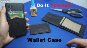 do it yourself phone wallet case diy youtube