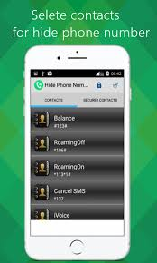 Hide Phone Number for Android Free and software reviews