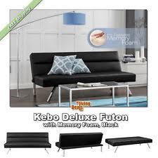 Kebo Futon Sofa Bed A by Kebo Futon Sofa Bed Dhp Modern Click Clack Sleeper Memory Foam