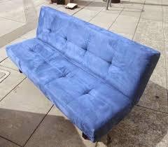 Balkarp Sofa Bed Black by Uhuru Furniture U0026 Collectibles Sold Bright Blue Ikea Fold Down