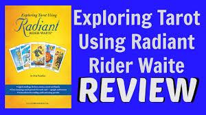 Universal Waite Tarot Deck Instructions by Exploring Tarot Using Radiant Rider Waite Youtube