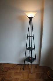 Small Table Lamps At Walmart by Torchiere Floor Lamp With Pyramid Shelves On Wooden Parquet