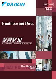 Ceiling Radiation Damper Meaning by Daikin Engineering Data Vrviii Edau37 750a 1 1 By Education