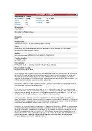 Dictamen Notificación Por Correo Certificado