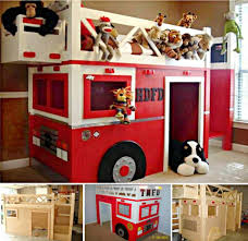 100 Fire Truck Loft Bed I Know Joe Herndon Could Make This No Problem