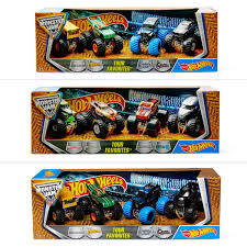 Hot Wheels Monster Jam Tour Favourites 4 Pack - Assorted* | BIG W Hot Wheels Monster Jam Mega Air Jumper Assorted Target Australia Maxd Multi Color Chv22dxb06 Dashnjess Diecast Toy 1 64 Batman Batmobile Truck Inferno 124 Diecast Vehicle Shop Cars Trucks Amazoncom Mutt Dalmatian Toys For Kids Travel Treds Styles May Vary Walmartcom Monster Energy Escalade Body Custom 164 Giant Grave Digger Mattel