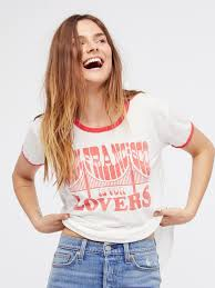 san fran is for lovers tee retro clothing boutiques and free people