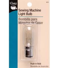 dritz sewing machine 15w light bulb with push in bayonet base joann