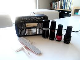 Sensationail Pro 3060 Led Lamp Ebay by Sensationail Gel Nail Polish Kit Review With Pictures U2013 Lipgloss