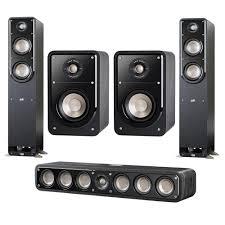 Polk Ceiling Speakers India by Open Box Polk Audio 2x S50 Small Tower Speaker W Bookshelf Slim