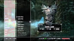 Skyrim Atronach Forge Daedric Armor & Weapons No Smithing