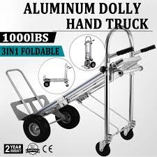 Heavy Duty Aluminum Hand Carts Truck / Dolly Wheel Cart 1000 LB ... Hand Trucks R Us Harper Alinum Appliance Truck 800 Lbs Shop Dollies At Lowescom 15 Discount 3 In 1 Foldable Dolly Cart 1000 Lb In All Lb Utility Folding Magliner 1000lb Capacity Silver Convertible Milwaukee 4in1 Truck60137 The Home Depot Enchanting 2018 1000lbs Lift Luggage Carrier Portable 500 Modular With Double