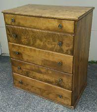 Heywood Wakefield Dresser With Mirror by Colonial Antique Dressers U0026 Vanities Ebay