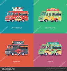 Set Of Flat Food Truck Illustrations. Modern Design Concept ... Mexican Sushi Other Fusion Foods Latinaish Sushiworld Lanz El Primer Foodtruck De Sushi Del Interior Kome Burrito San Francisco Food Trucks Roaming Hunger Truck By Kareem Carts Manufacturing Company The Oc Rolling Van Laura Tran Photo Catering Services Taste In Gainesville Whereshouldwegomsp Fix Truck Le Haillan Restaurant Reviews Phone Number Rrrollend Festival Culinice Foodblog Recepten Amy Briones Design Orlando Sentinel