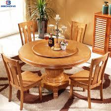 esszimmer möbel massivholz runder esstisch set mit 4 stühlen buy esszimmer runden tisch set massivholz runden tisch set esstisch mit 6 stühle