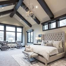Like The Dark Beams With White Ceiling For Family Room Master Bedroom Paint Color