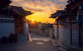 104 South Korean Architecture Download Wallpapers Seoul Shoot Morning Houses Korea For Desktop Free Pictures For Desktop Free