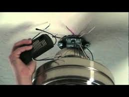 Avion Ceiling Fan Manual by How To Install A Ceiling Fan With Remote Control Youtube