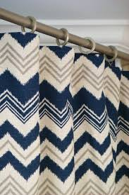 Gold And White Chevron Curtains by Best 25 Navy Blue Curtains Ideas On Pinterest Curtains With