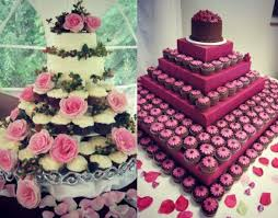 Wedding Cake Of The Day Cupcake Towers