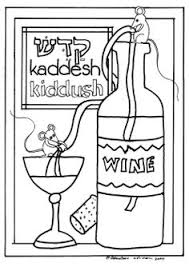 Passover Hagaddah Coloring Pages Cute To Keep The Kids Entertained