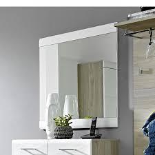 spiegel weiß mdf wandspiegel flur diele badezimmer gäste wc
