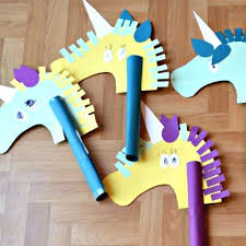Magical Unicorn Crafts For Kids Construction Paper Unicorns Craft Beer Market