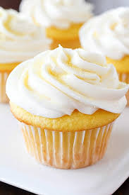 Lemon Cupcakes Made With Only 2 Ingredients And Then Frosted A Quick Easy